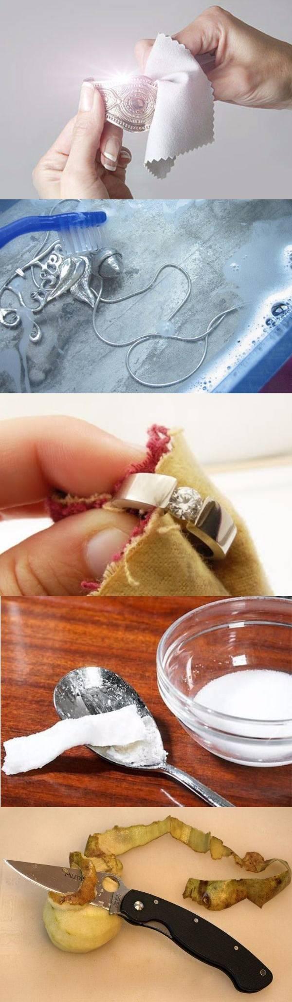 20 способов чистки ювелирных украшений