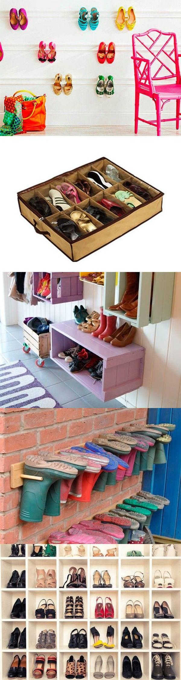 25 идей хранения обуви