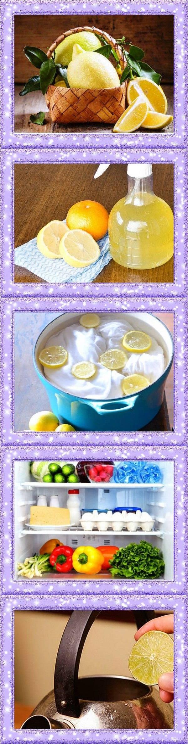 Применение лимонов в быту. 21 необычный вариант