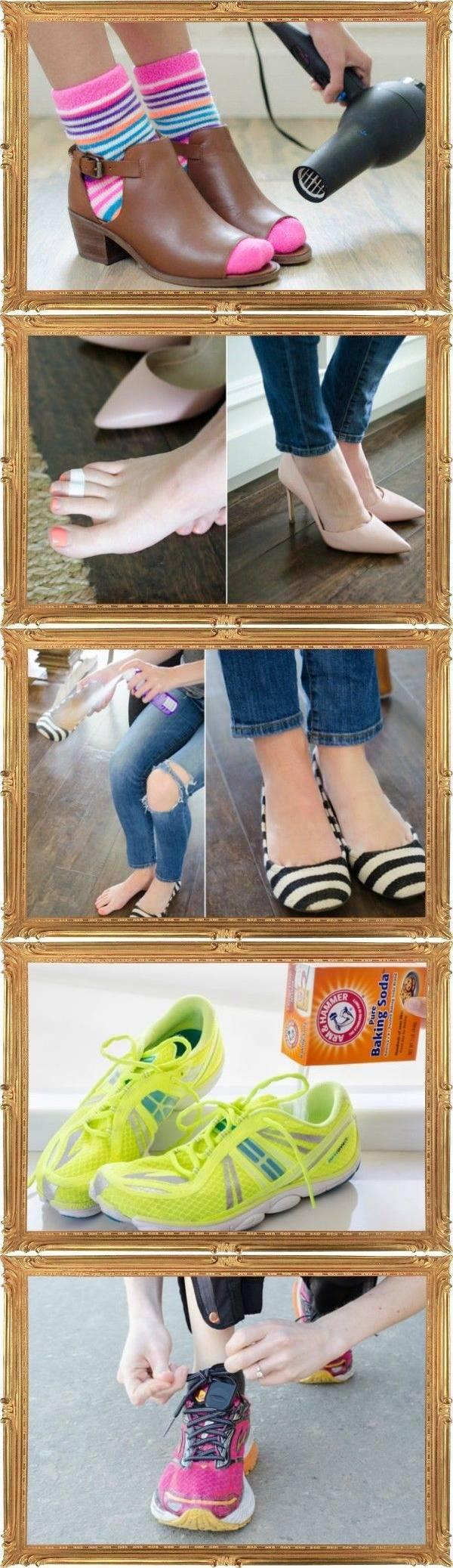 Уход за обувью — 15 лайфхаков