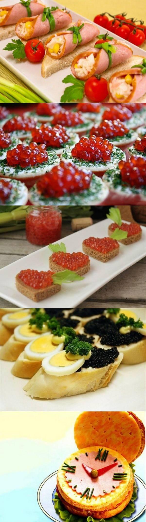 Украшение бутербродов. 15 оригинальных идей