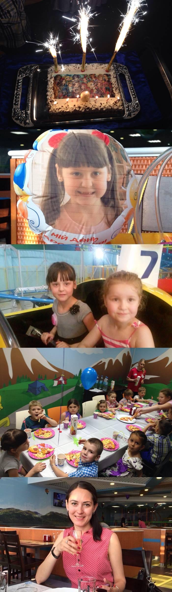 Как мы отметили шестилетие дочери