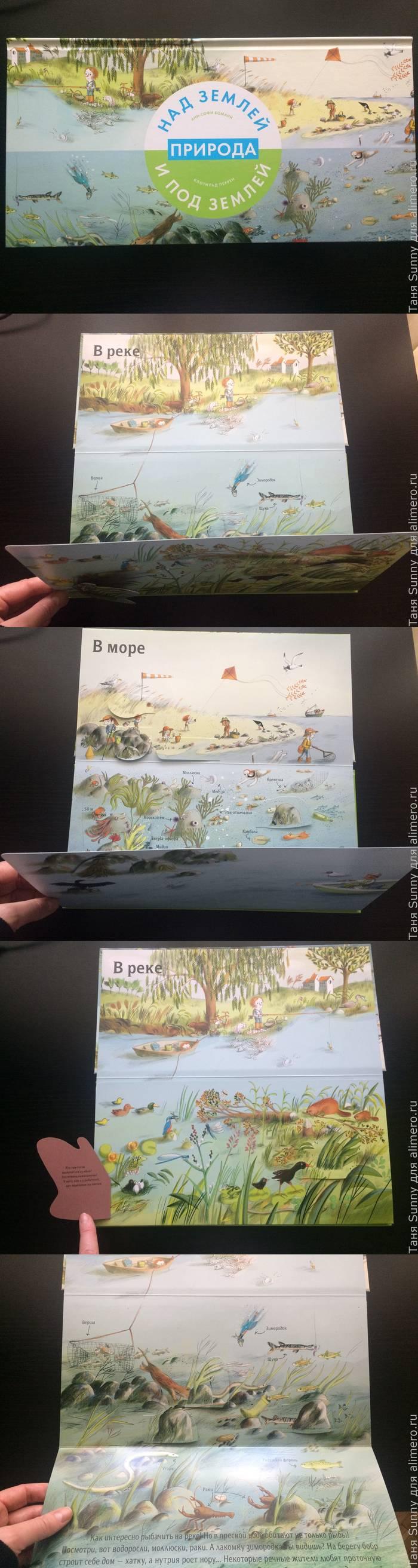 """Книга """"Природа над землей и под землёй"""", обзор"""