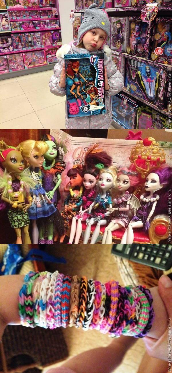Подарки на шестилетие дочери