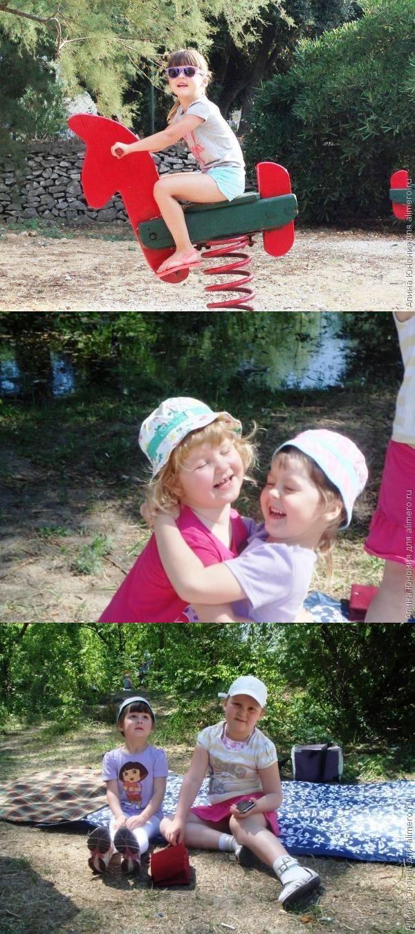 Воспитание детей летом