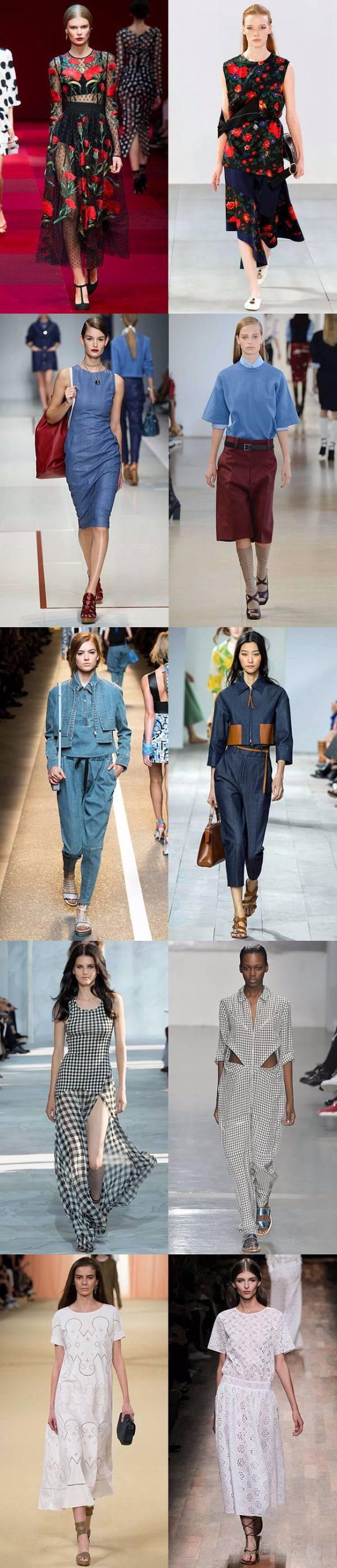 Модные тенденции лета 2015