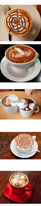 15 идей для кофе-арта