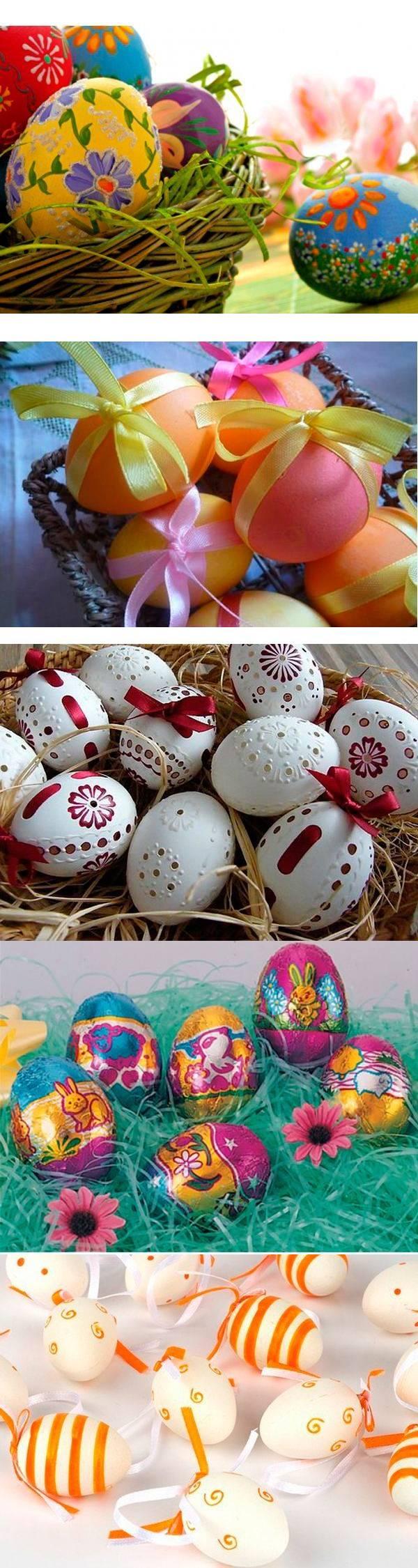 27 идей декора яиц на Пасху
