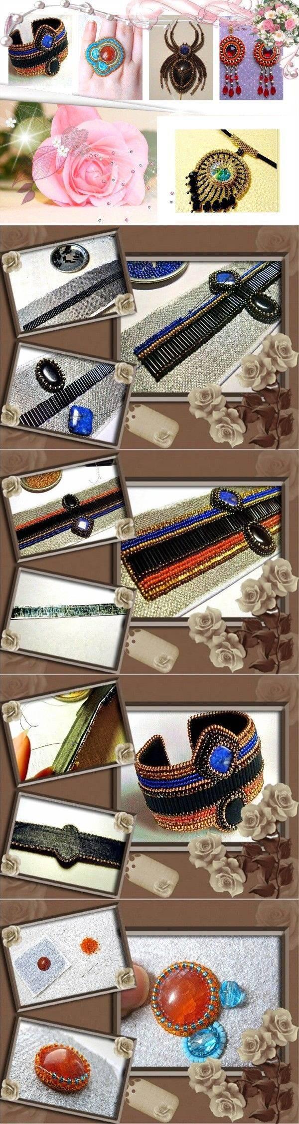 Бисерные украшения в восточном стиле. 4 мастер-класса