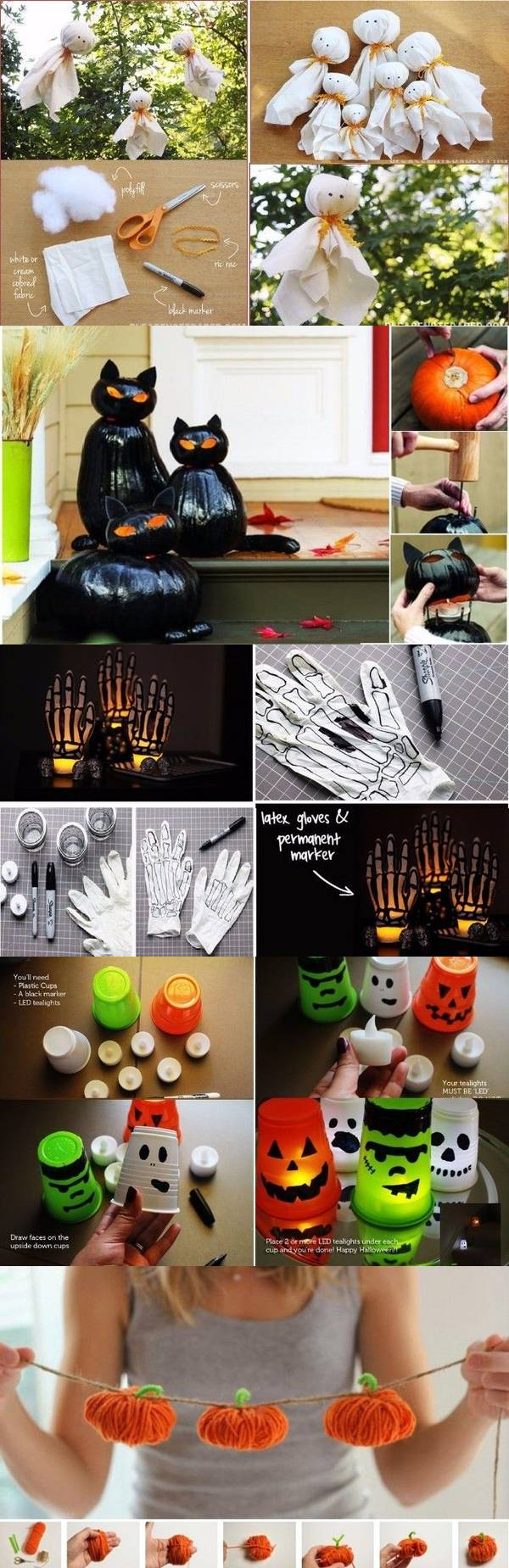 Декор дома на Хэллоуин – 26 вариантов