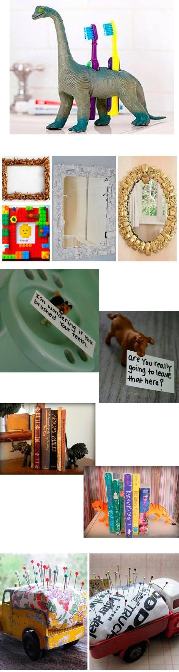 Новая жизнь старых игрушек - 16 идей