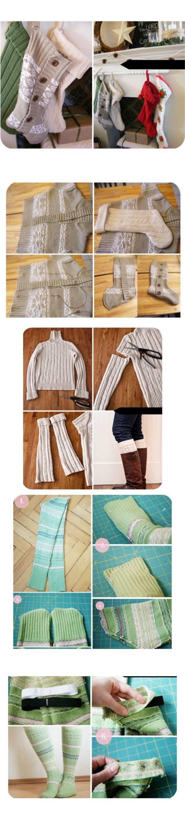 Вторая жизнь старых свитеров
