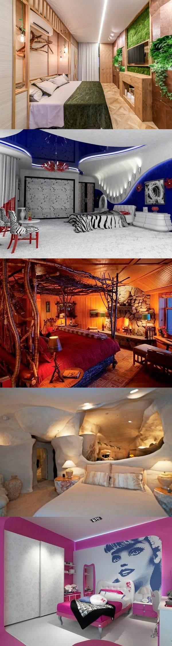 25 идей оригинального дизайна спальни