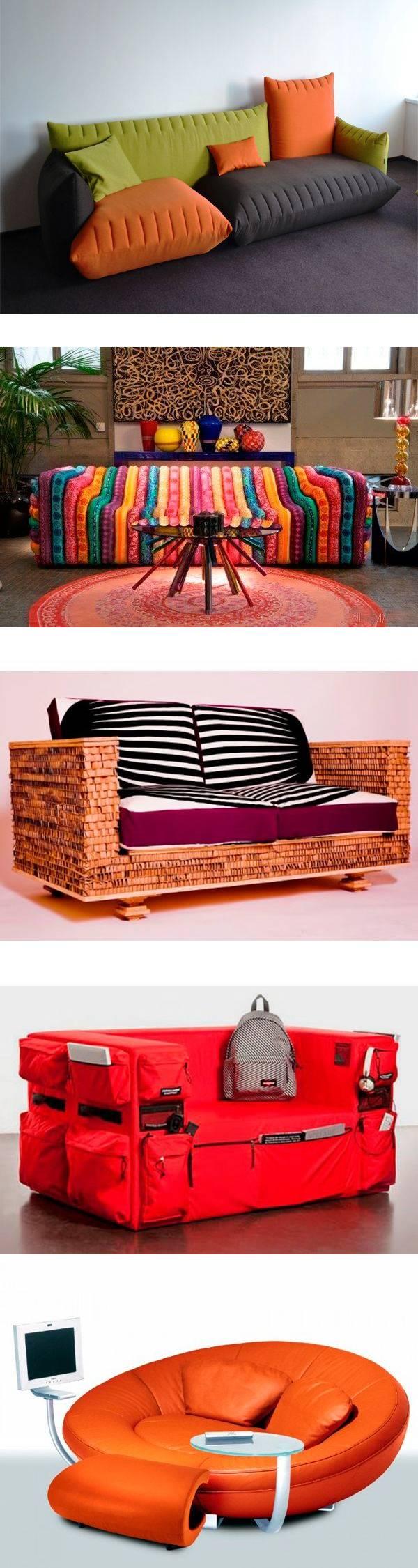 26 необычных диванов