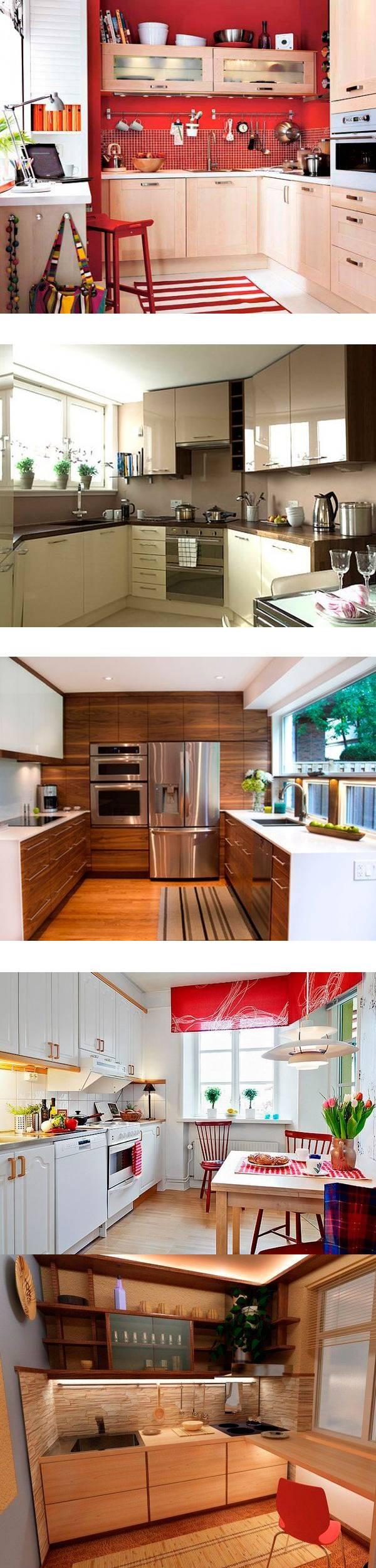 Дизайн маленькой кухни — 26 идей