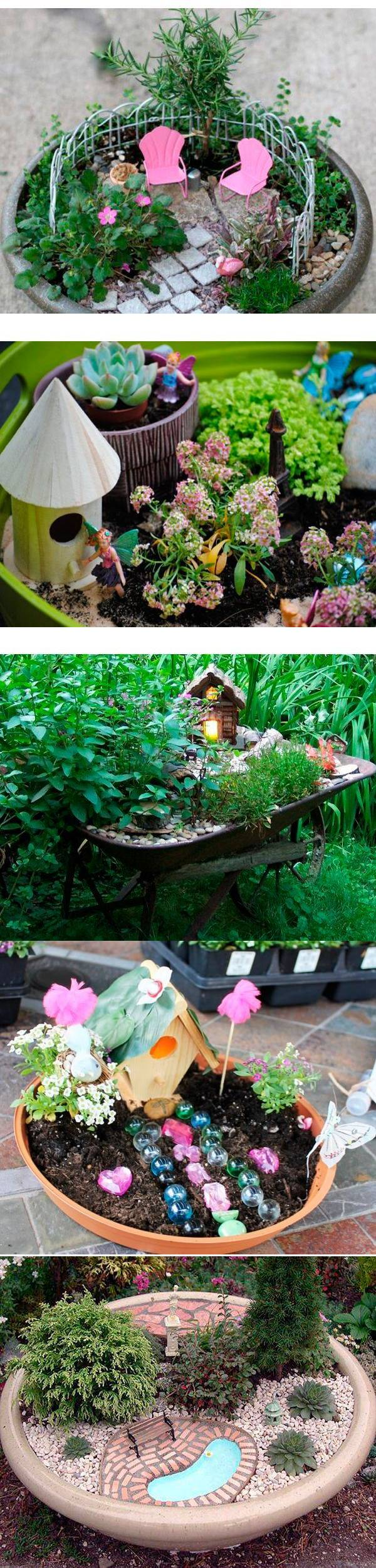 Оригинальные мини-сады — 30 идей