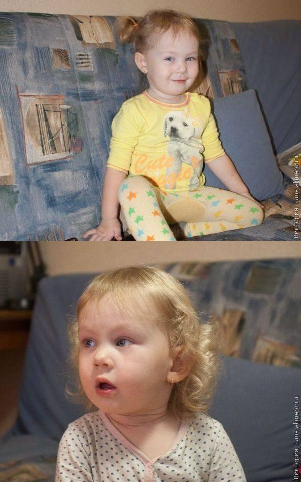 Прилежный ребенок в саду и полная противоположность дома