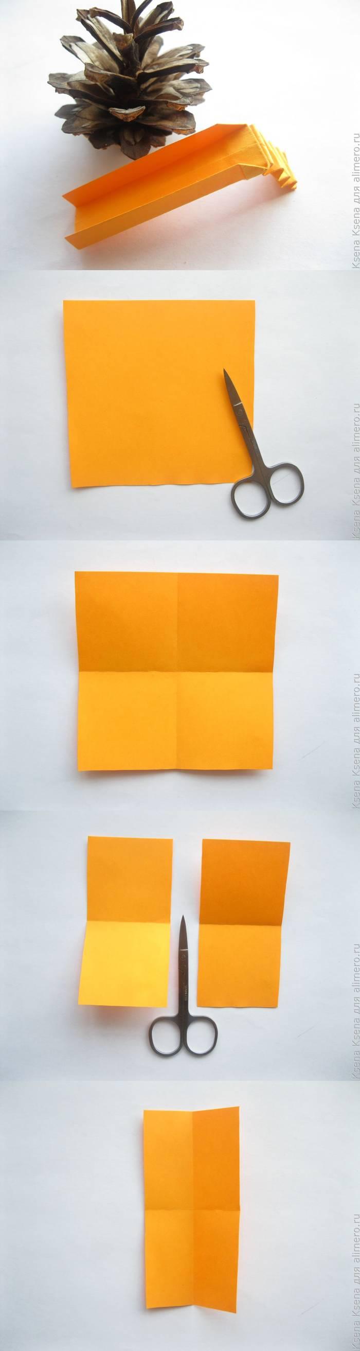 """Оригами игрушки из бумаги """"Детская горка"""" своими руками"""