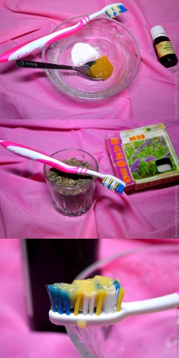 Зубная паста из натуральных компонентов