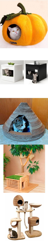 15 вариантов домиков для кошек