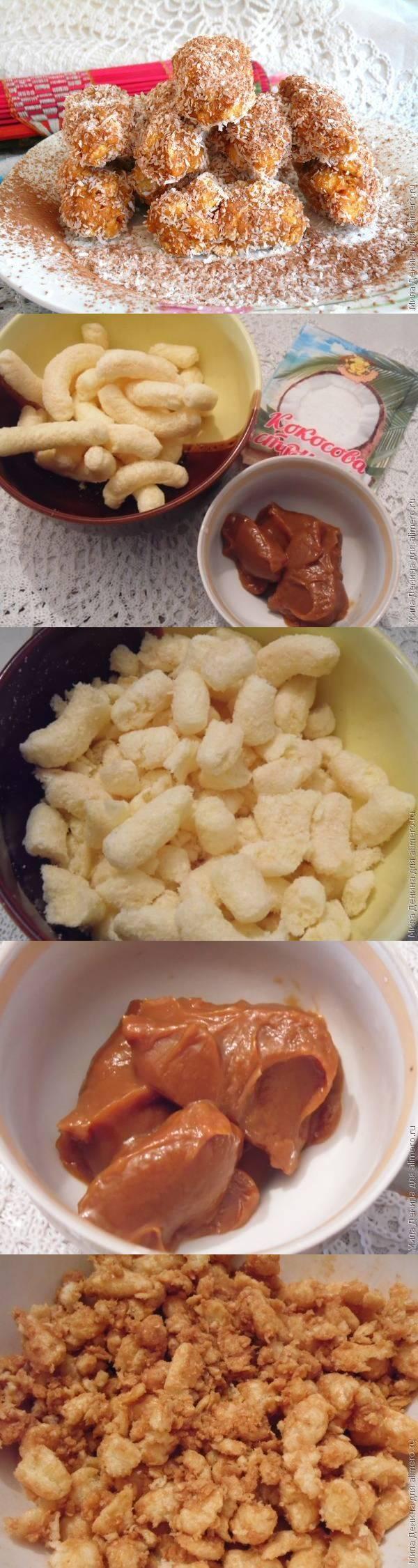 """Детские конфеты """"Муравейник"""" за 5 минут"""