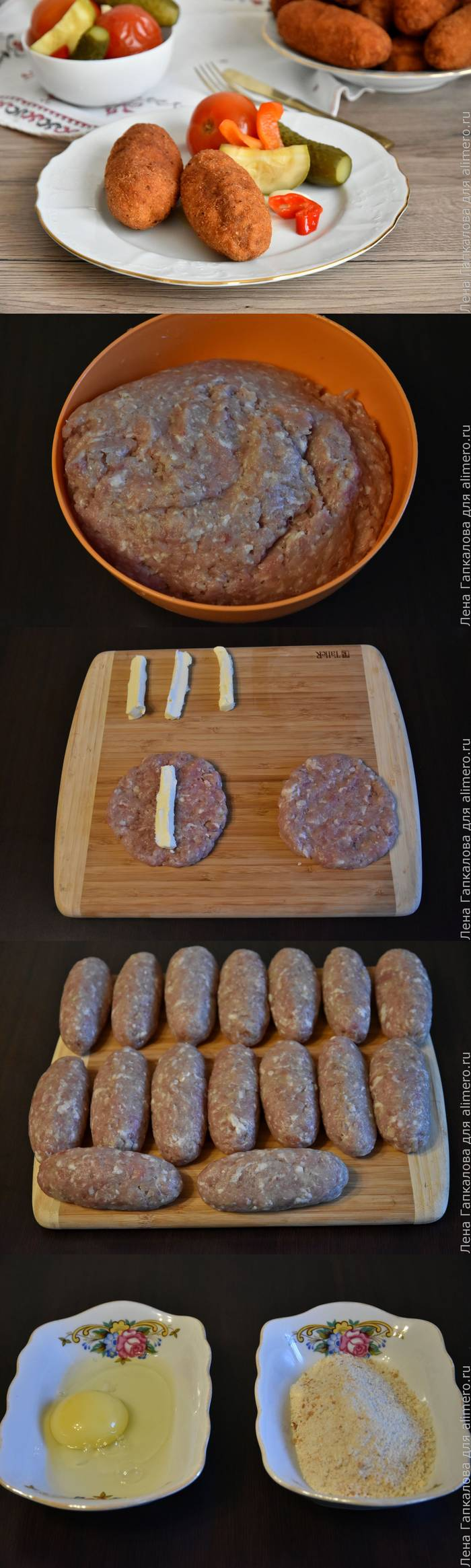 Рецепты котлет по донбасски с пошаговым фото