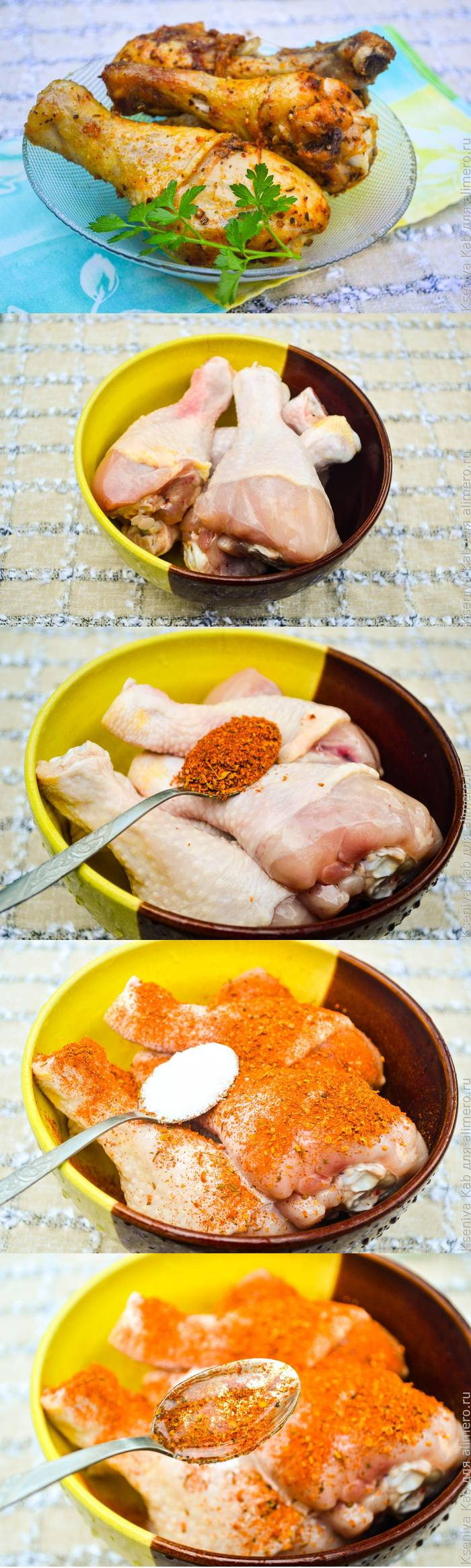 Курица в микроволновке - простой рецепт