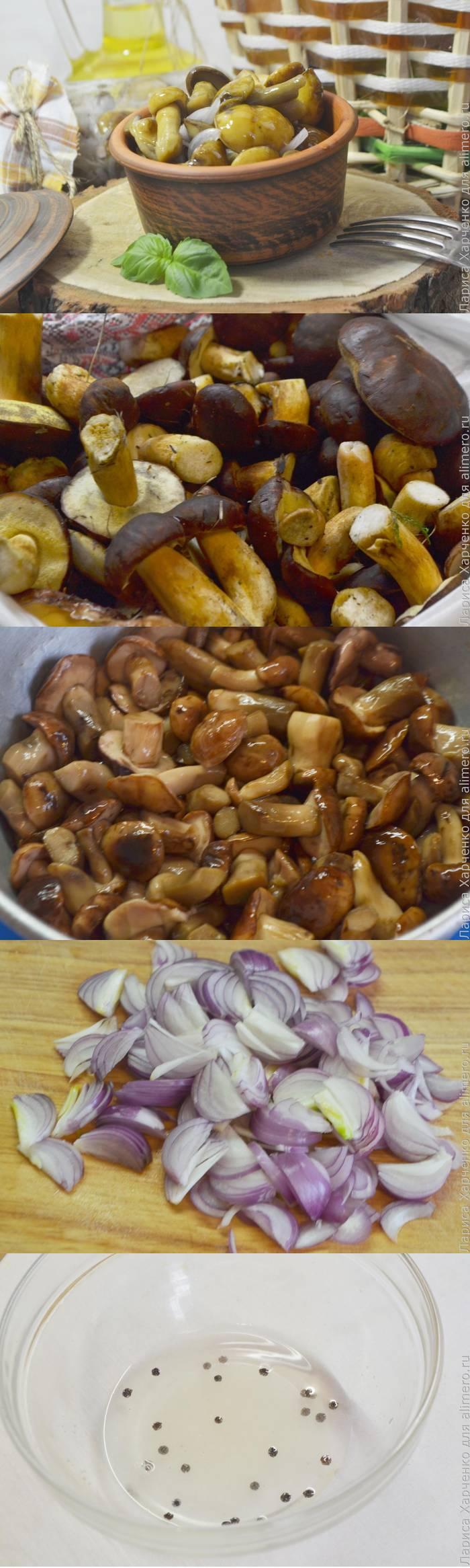 Маринованные грибы - быстрый способ