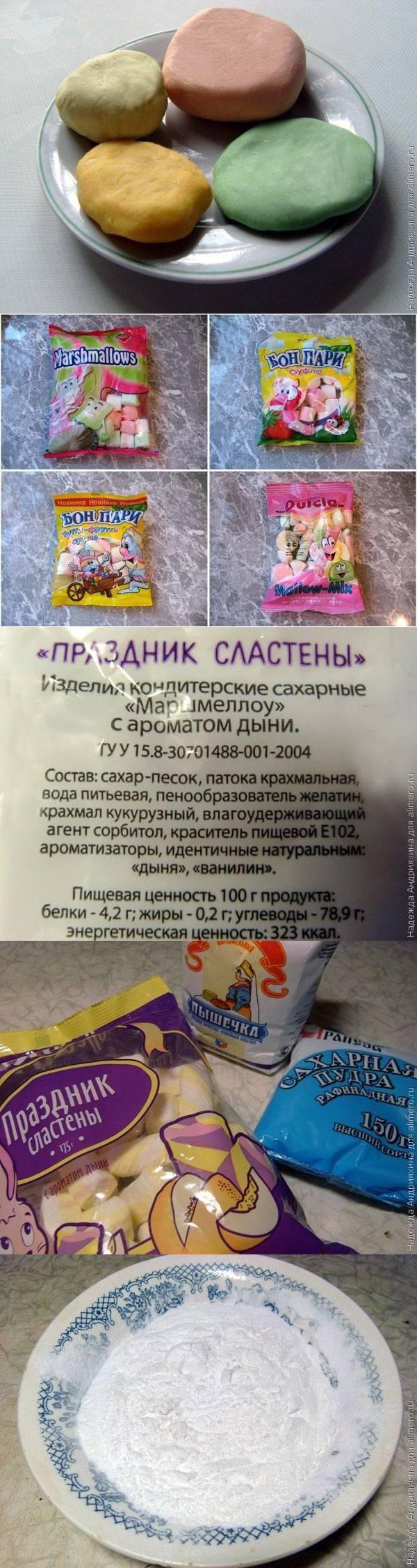 Мастика для торта из маршмеллоу рецепт в домашних условиях