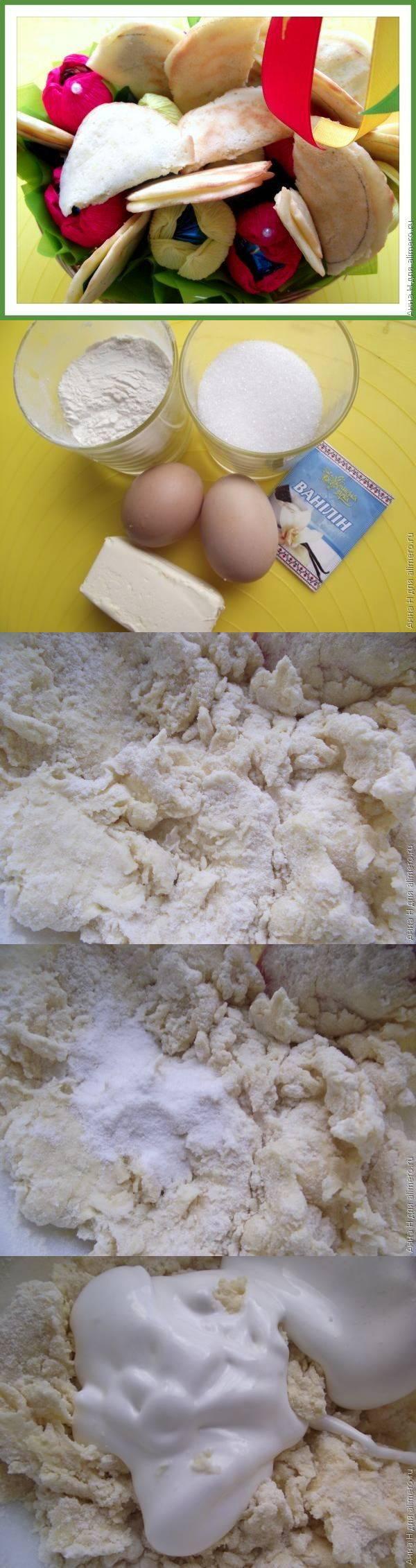 Печенье с предсказанием пошаговый рецепт