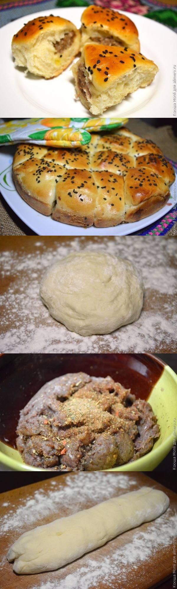 """Румынские пирожки с мясом """"Необычные"""""""