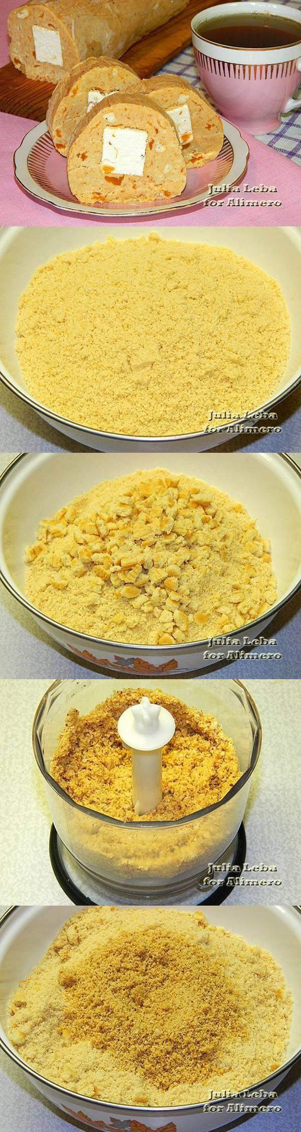 Сладкая колбаска с лукумом