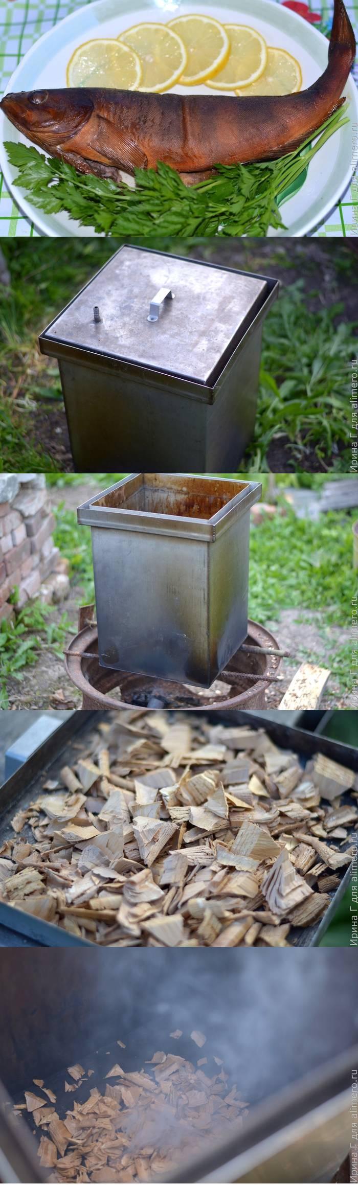 Терпуг горячего копчения в домашних условиях