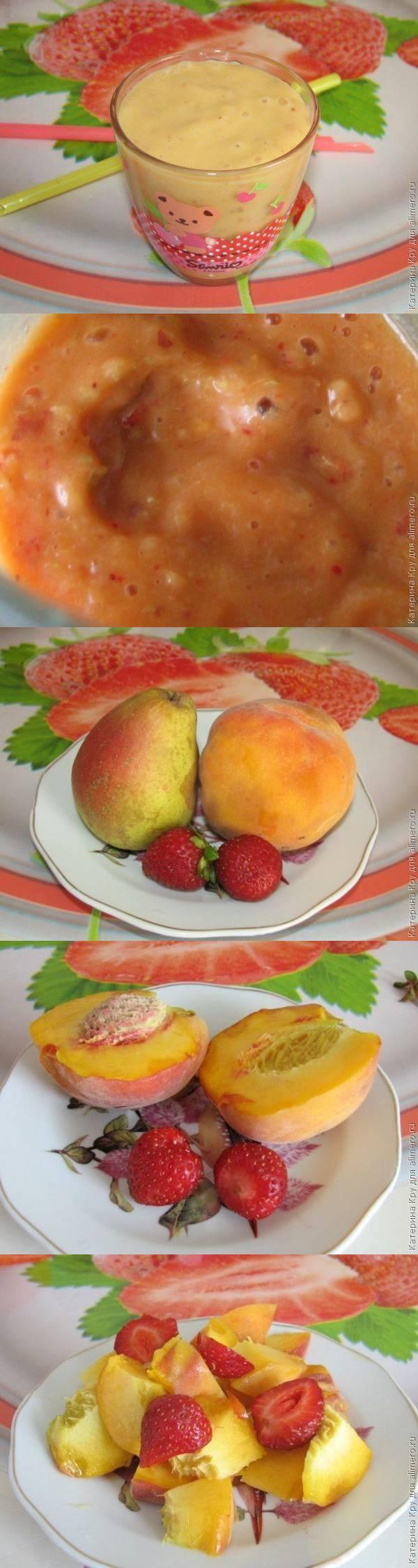 Ягодно-фруктовое смузи