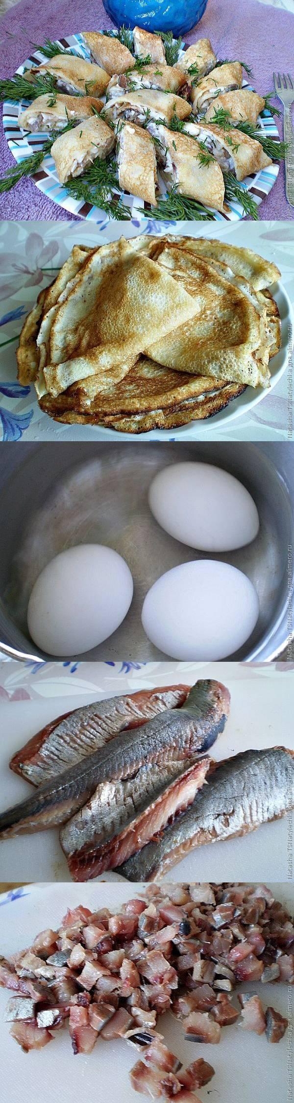 Закуска с сельдью