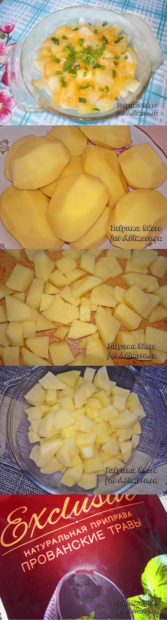 Запеченный картофель в молоке