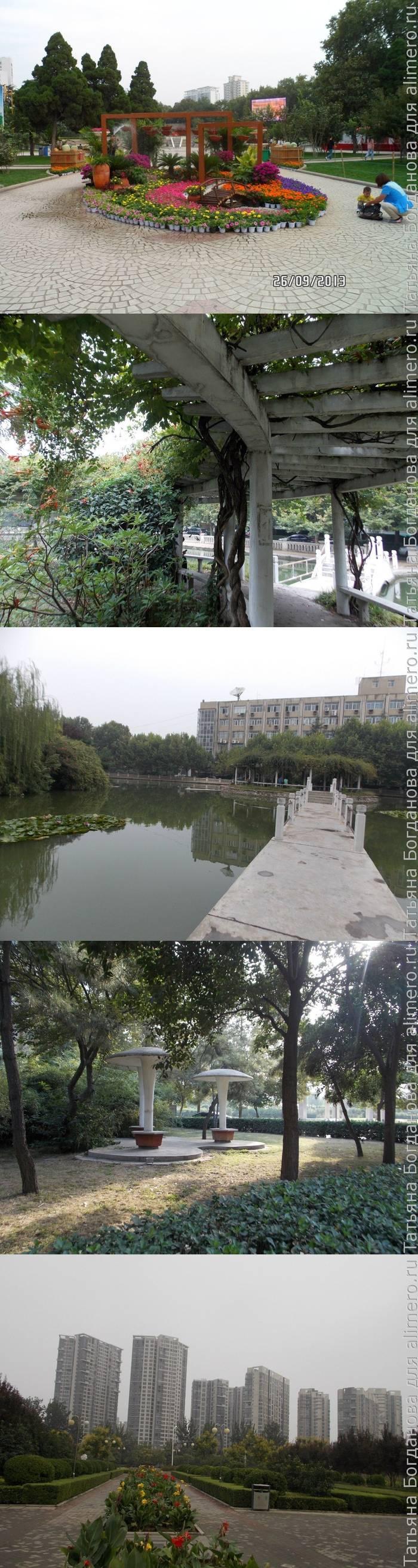 Парки Китая на примере Чжэнчжоу