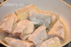 Рецепт приготовления наваги в духовке