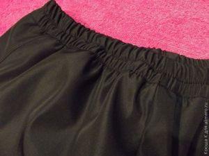 выкройка женских спортивных штанов на резинке без бокового шва