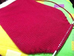 вяжем свитер для собаки