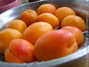 абрикосовое варенье, промыты