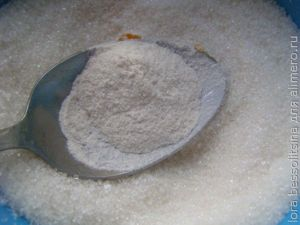 абрикосовое варенье, сахар с пектином