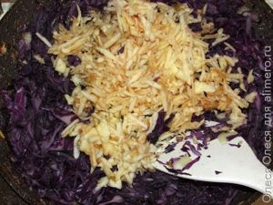 Рецепт для красной капусты