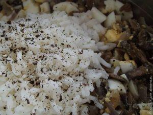 Пирожки с яйцом и грибами