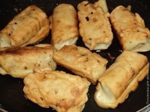 Пирожки с картошкой Ленивая хозяйка