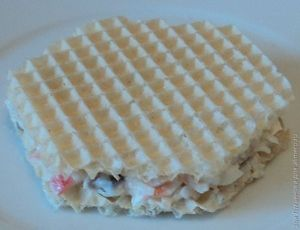 Закуска из крабовых палочек