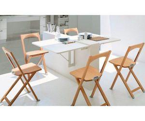Мне очень понравился такой стол. Установить его можно не только на кухне. Думаю, что в комнате он также будет уместен.