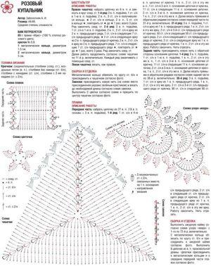 Узбекское вязание схемы