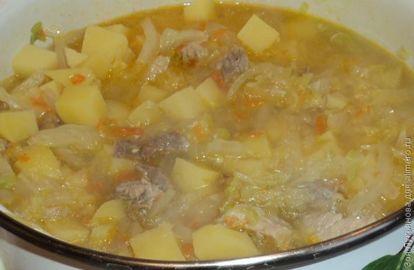 что в суп кладут первым картошку или капусту