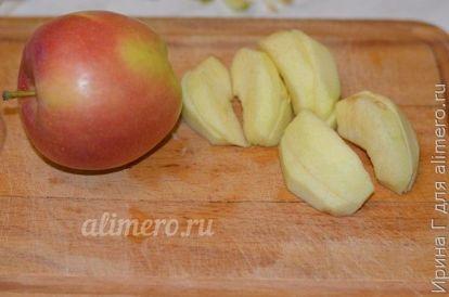 творожно-яблочная запеканка